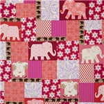Bright Festive Elephants