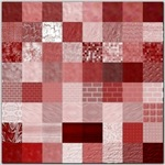 Shades of Red Squares