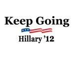 KEEP GOING - HILLARY '12