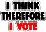 I Think Therefore I Vote