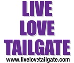 Live Love Tailgate Purple