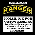 Nametag Ranger Shirts