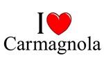 I Love (Heart) Carmagnola, Italy