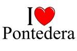 I Love (Heart) Pontedera, Italy