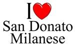 I Love (Heart) San Donato Milanese, Italy