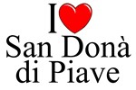 I Love (Heart) San Dona di Piave, Italy