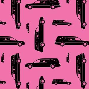 Pink Hearse Pattern