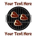 CUSTOM TEXT BBQ Grill