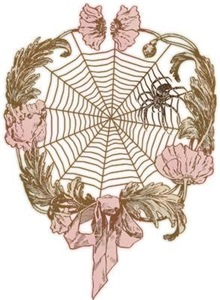 Spider Flower Wreath