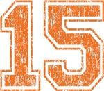 Orange Retro 15
