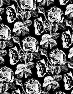 Black Rose Pattern