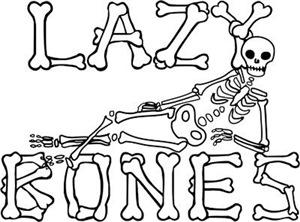 Lazy Bones Skeleton