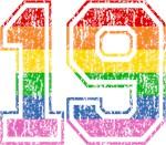 Retro 19 Rainbow