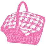 Pink Picnic Basket T-shirts