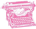 Pink Typewriter T-shirts