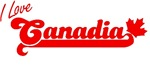I Love Canadia T-shirts