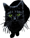 Black Cat T-shirts
