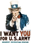 Uncle Sam I Want You T-shirts