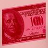 pink 100 bill t-shirts