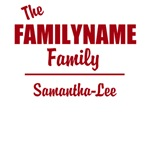 CUSTOM TEXT Family Or Group T-shirts