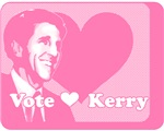 Retro Pink Vote John Kerry