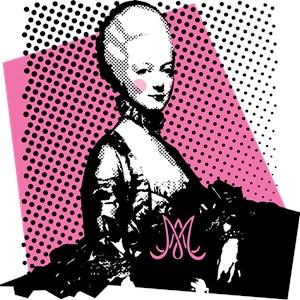 Marie Antoinette Pop Art