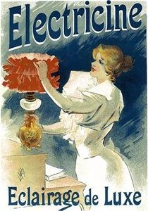 Vintage Poster Art Electricine