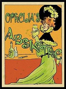 1890s Style Ophelia's Absinthe