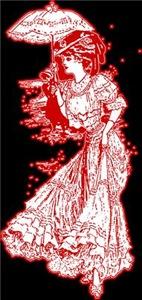 Vintage Edwardian Fashion Lady