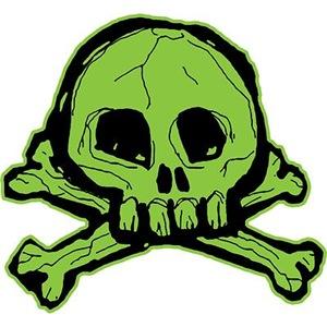 Scribbly Skull And Crossbones
