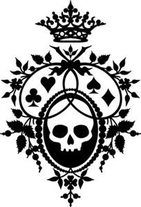 Gothic Skull Crest