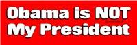 Obama Not My President
