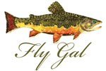 BROOK Trout Fly Gal