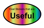 Useful Oval Stickers