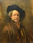Famous Paintings: Rembrant Self Portrait