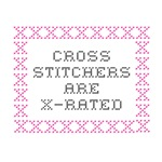 Cross Stitchers are X Rated