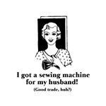 Got a Sewing Machine for my Husband