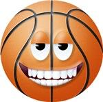Basketball 2 Smiley Face