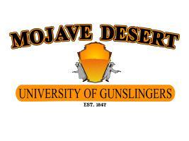 Mojave Desert University of Gunslingers