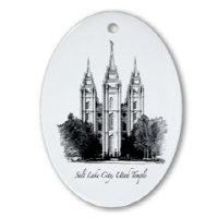 LDS Temple Ornaments