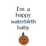 Happy waterbirth baby 3
