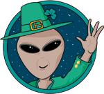 St. Patrick's Day Alien