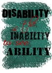 Disability is...