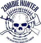 Zombie Hunter Blue