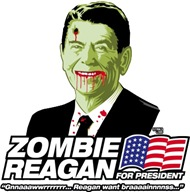 Vote Zombie Reagan in 2008