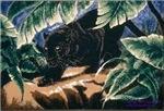 Panther Black Satin