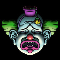 Evil Clown Sad