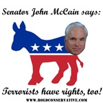 McCain: Terrorists Rights