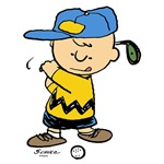 Charlie Brown Golfer