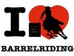 I love Barrel riding